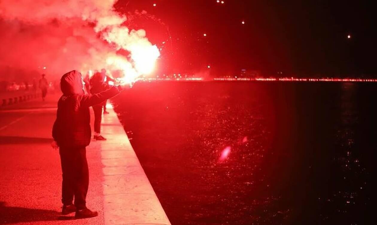 «Φωτιά» στη Θεσσαλονίκη για το πρωτάθλημα του ΠΑΟΚ - Απίστευτοι πανηγυρισμοί (pics,vid)