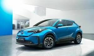 Αυτό είναι το ηλεκτρικό C-HR που παρουσίασε η Toyota στη Σαγκάη