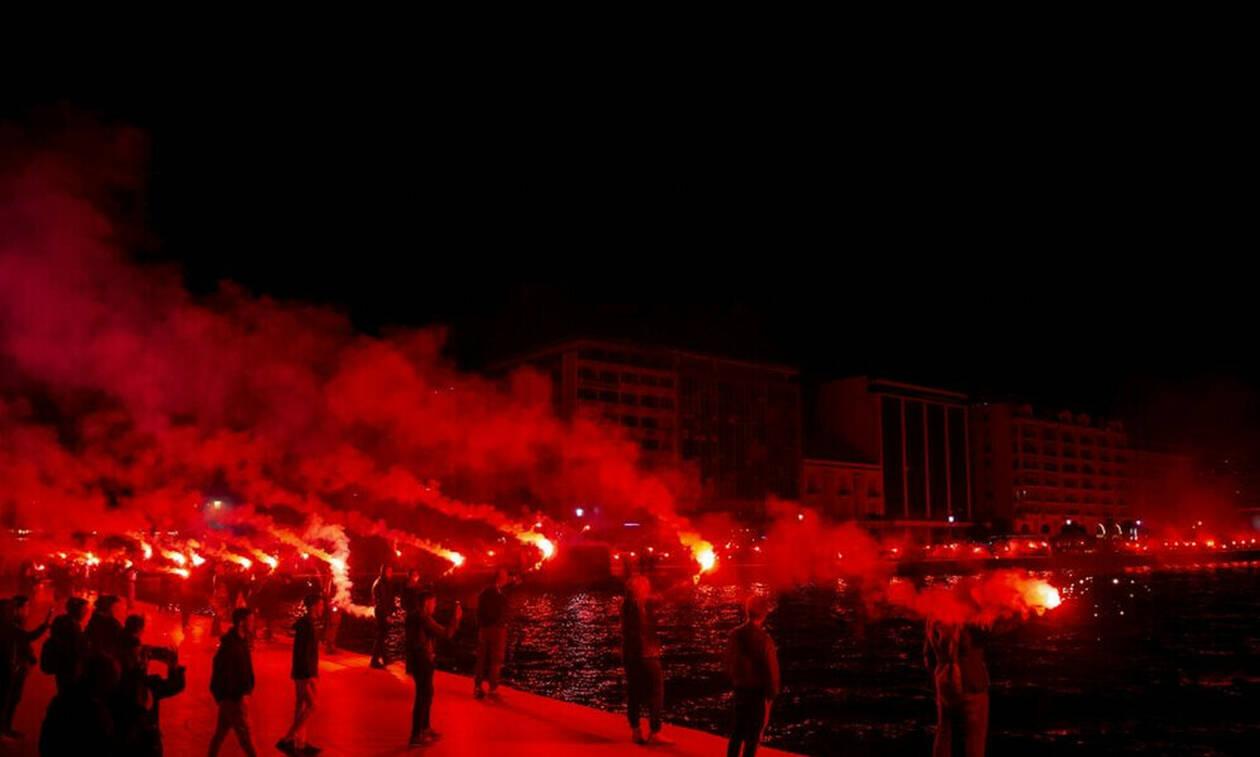 Το Δημαρχείο Θεσσαλονίκης είναι... ΠΑΟΚ! (photo)