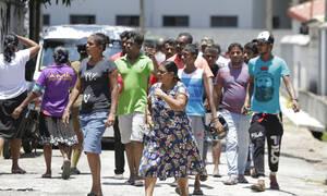 Μακελειό στη Σρι Λάνκα: Βίντεο - σοκ από τη στιγμή της έκρηξης σε μία από τις εκκλησίες