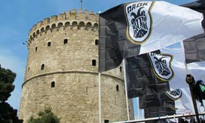 Τρέλα στη Θεσσαλονίκη με ΠΑΟΚ (photos)