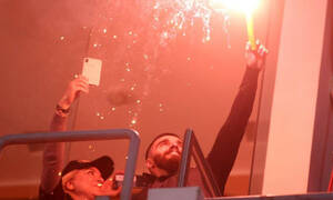 Γιόρτασε τον τίτλο με καπνογόνο στη... σουίτα ο Γιώργος Σαββίδης!