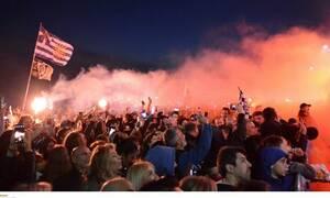 ΠΑΟΚ: Χαμός στο Λευκό Πύργο για την υποδοχή των πρωταθλητών