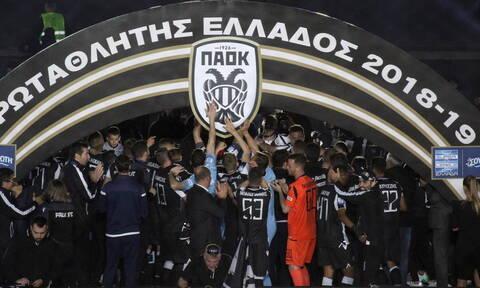 Πρωταθλητής Ελλάδας ο ΠΑΟΚ: «Μεθυσμένη» πολιτεία η Θεσσαλονίκη - «Κάηκε» η Τούμπα