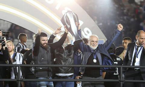 Η ιδιαίτερη κίνηση του Γ. Σαββίδη: Χάρισε το μετάλλιο του πρωταθλητή (photos)