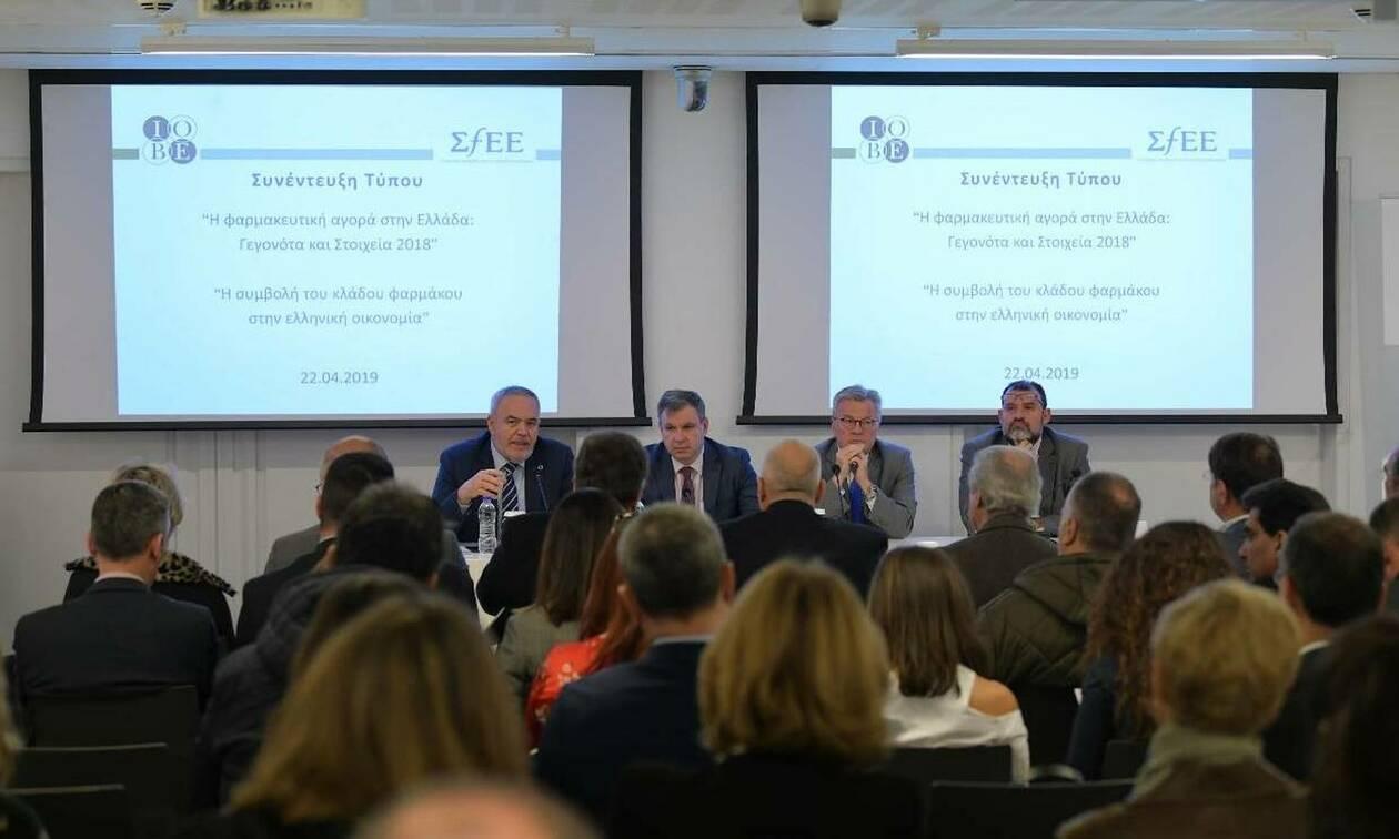 ΙΟΒΕ: 6,1 δισ. ευρώ η συνεισφορά του κλάδου του φαρμάκου στο ΑΕΠ
