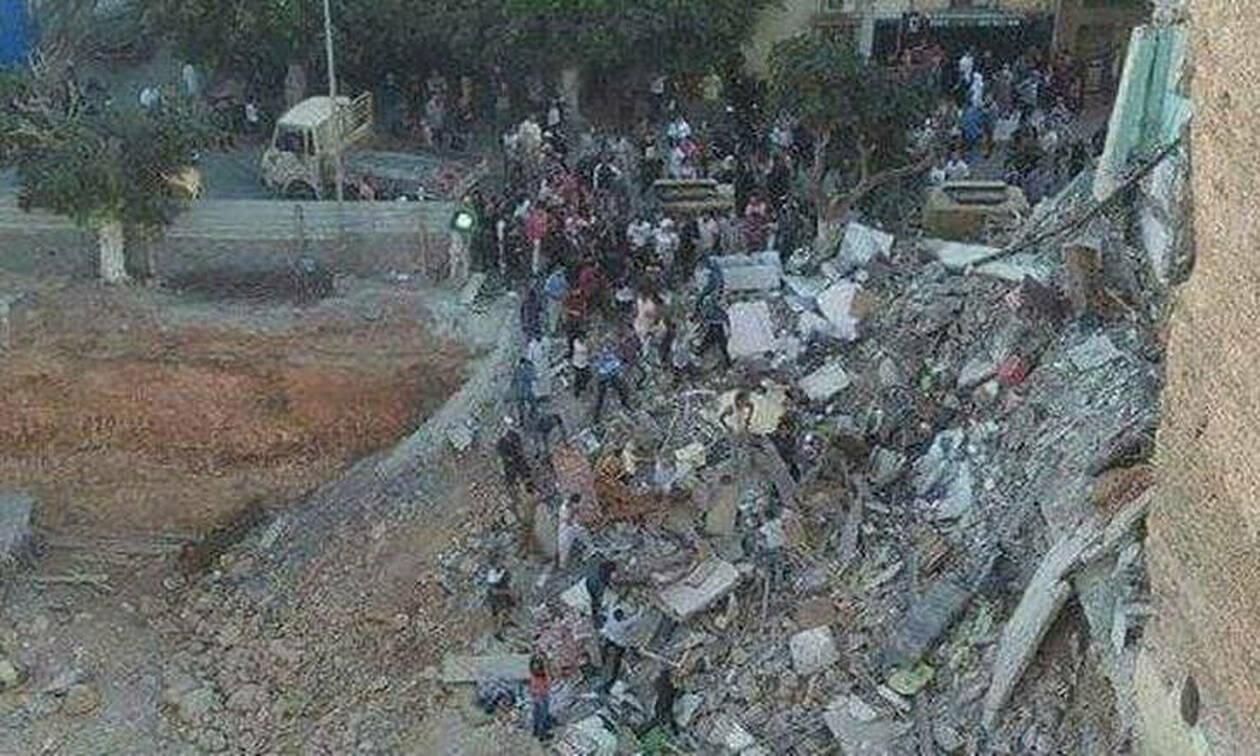 Αλγερία: Ξεκληρίστηκε πενταμελής οικογένεια σε κατάρρευση κτηρίου (vids)