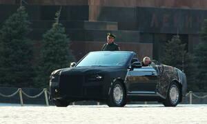 Αυτό είναι το πολυτελές Aurus κάμπριο του Βλαντιμίρ Πούτιν