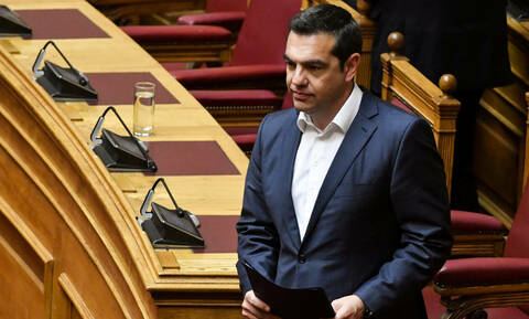 Tsipras: If Mitsotakis tables censure motion against a minister, I will turn it into vote of confide