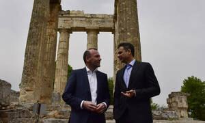 Επίθεση ΣΥΡΙΖΑ σε Μητσοτάκη για την περιοδεία με τον Βέμπερ: «Δείξε μου το φίλο σου...»