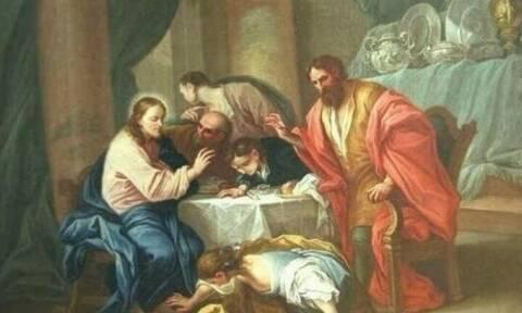 Μεγάλη Τετάρτη:  Η άλειψη του Κυρίου με μύρο από μια αμαρτωλή