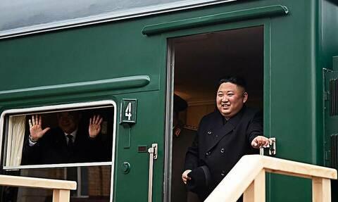 Бронепоезд Ким Чен Ына пересек границу России в Приморье