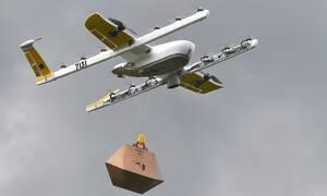 Τρόφιμα και φάρμακα στο σπίτι με drones (vid)