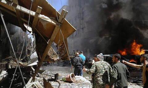 Συρία: Αρκετοί νεκροί από έκρηξη στην αγορά της πόλης Τζισρ αλ Σουγούρ