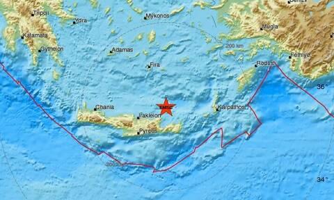 Σεισμός στην Ανατολική Κρήτη - Αισθητός στο Λασίθι