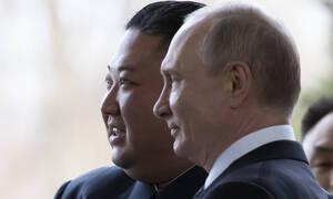 Ιστορική συνάντηση: Ο Βλαντιμίρ Πούτιν υποδέχθηκε τον Κιμ Γιονγκ Ουν στο Βλαδιβοστόκ