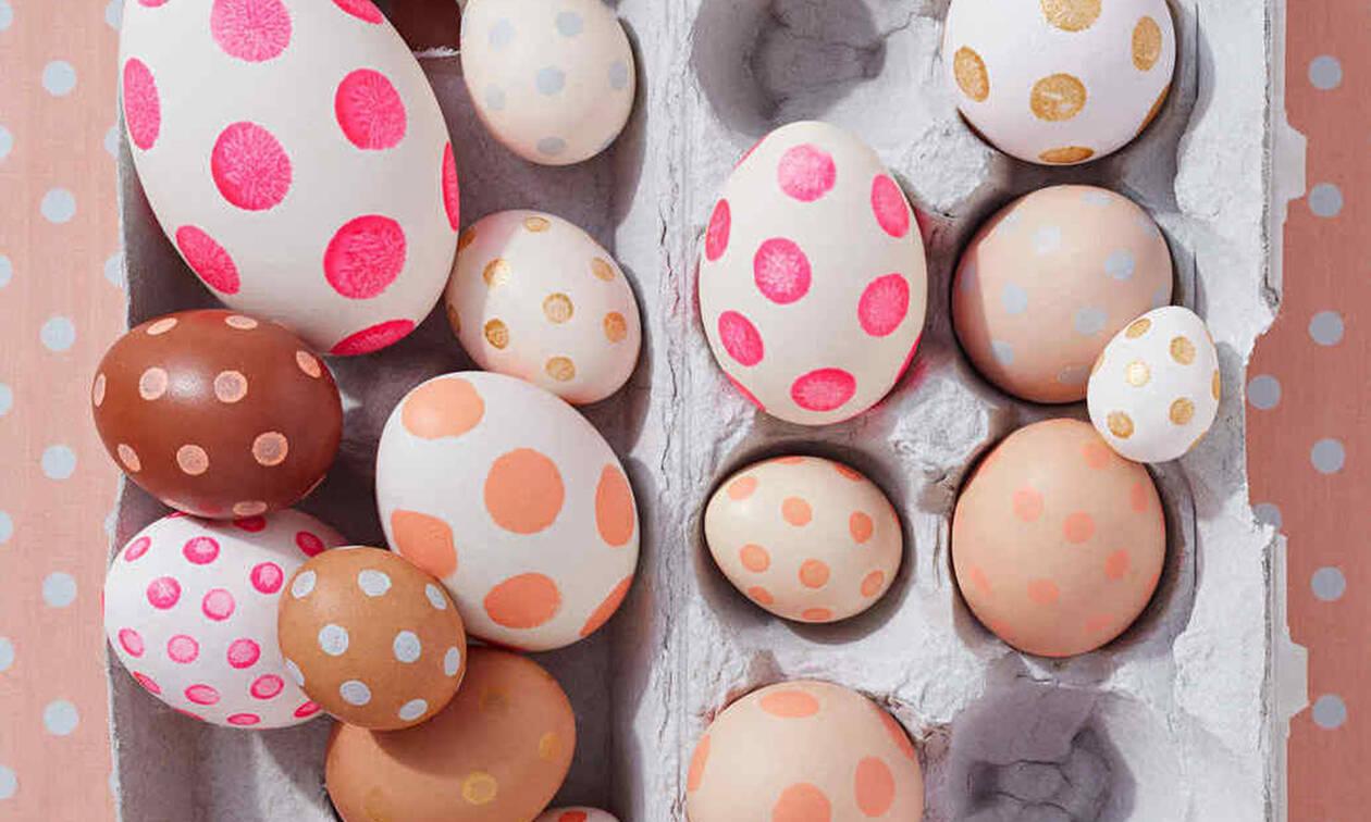 12 τεχνικές για να διακοσμήσεις τα πασχαλινά αυγά σου