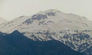 Καταπληκτικό θέαμα: Η αφρικανική σκόνη «έντυσε» και τα Λευκά Όρη!