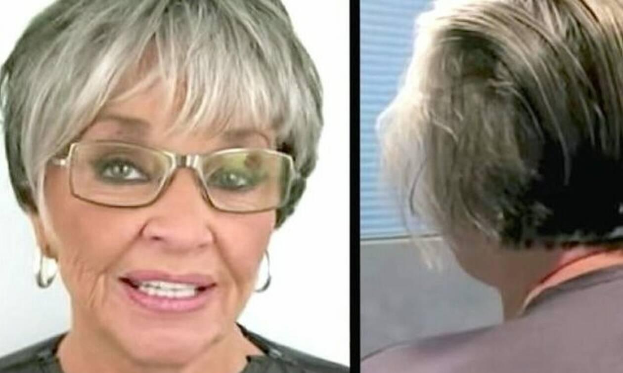 Φορούσε μέικ απ για 50 χρόνια ανελλιπώς - Δείτε τι έγινε όταν το έβγαλε!
