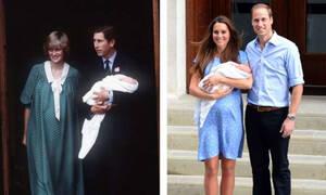 Δείτε πώς παρουσίαζε στο παρελθόν η βασιλική οικογένεια τους νεογέννητους διαδόχους (vid)