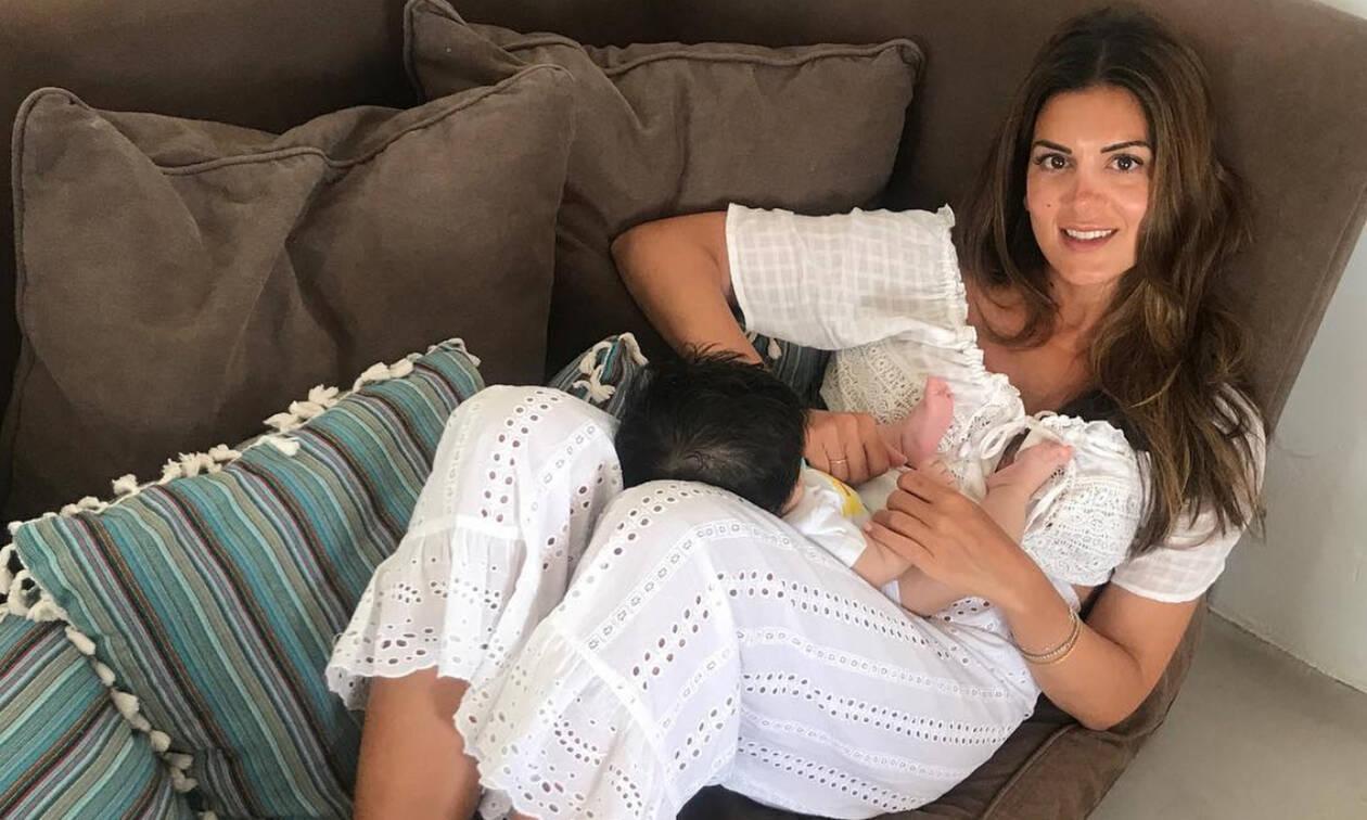 Σ. Τσιμτσιλή: Ο γιος της έχει γενέθλια - Ο πρώτος χρόνος μέσα από φωτογραφίες (pics&vid)