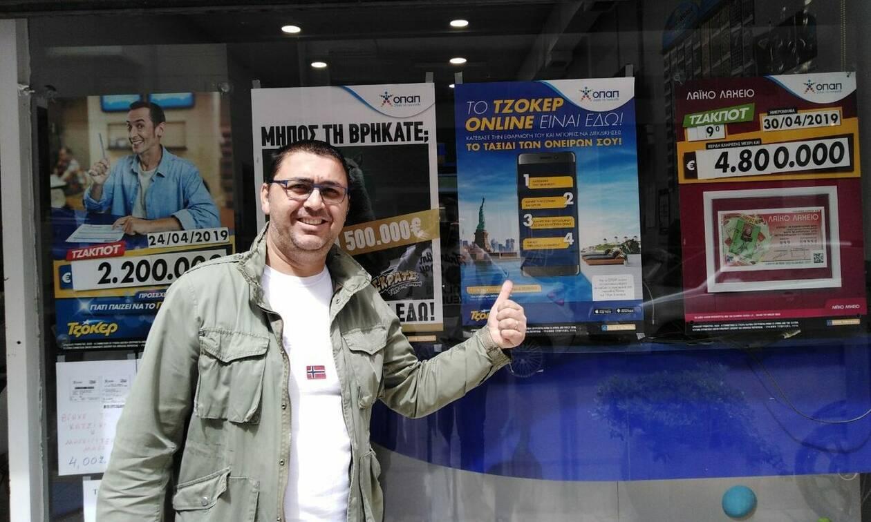 Σε Θεσσαλονίκη και Κερατσίνι οι πρώτοι νικητές του διαγωνισμού του tzoker.gr