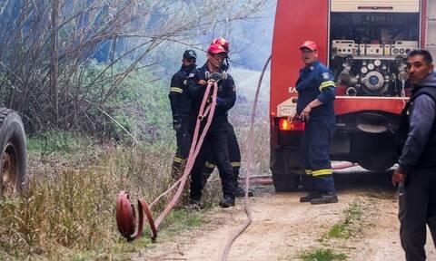 Πυρκαγιά στα Σπάτα