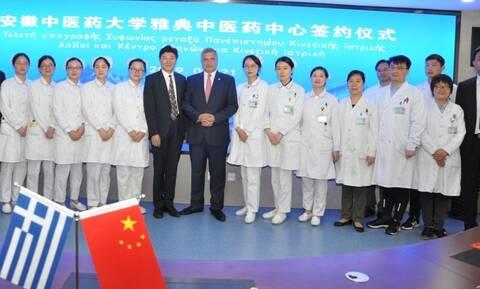 Ο Γιώργος Πατούλης στην Κίνα για τον τουρισμό υγείας