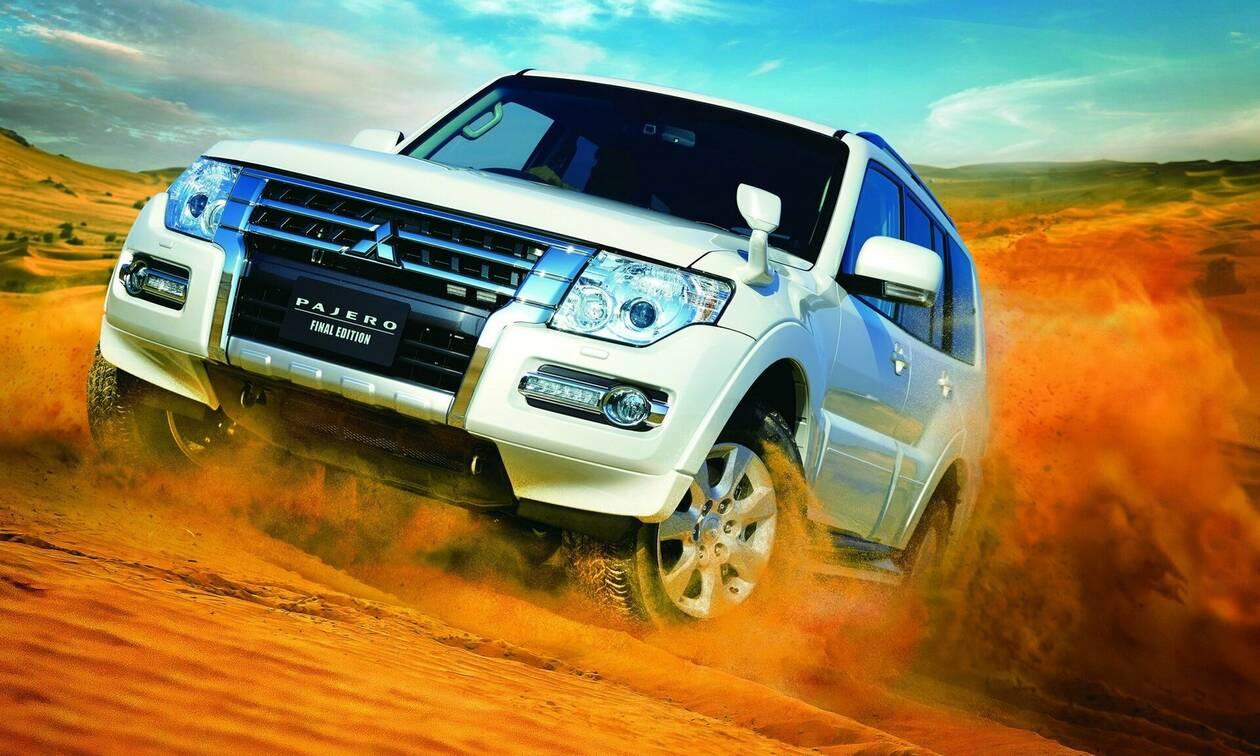 Τίτλοι τέλους για το Pajero της Mitsubishi: Σταματάει η παραγωγή του διάσημου τζιπ