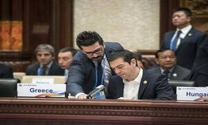 Алексис Ципрас проводит визит в Китай
