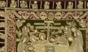 Αιτωλοακαρνανία: Κεντημένος Επιτάφιος στο Αιτωλικό του 12ου αιώνα