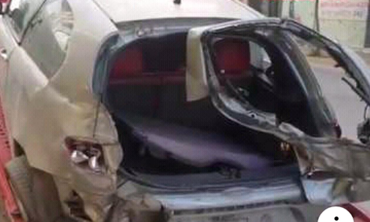Πάτρα: Σοβαρός τραυματισμός οδηγού μετά από τροχαίο