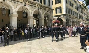 Πάσχα 2019 - Κέρκυρα: Η περιφορά των Επιταφίων