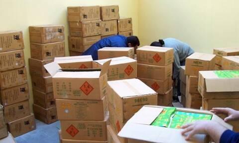 Hράκλειο: Εντόπιστηκαν και κατασχέθηκαν 300.000 κροτίδες