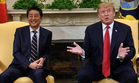 Ο Τραμπ θεωρεί πιθανή την επίτευξη εμπορικής συμφωνίας με το Τόκιο