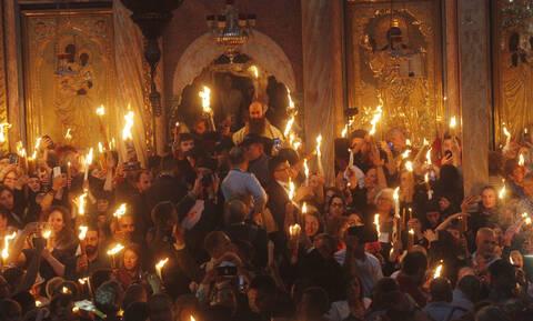Άγιο Φως: Η τελετή Αφής - Τι ώρα φτάνει στην Ελλάδα