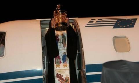 Έφτασε στη Θεσσαλονίκη το Άγιο Φως