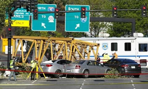 Τραγωδία στα γραφεία της Google: 4 νεκροί και 3 τραυματίες από κατάρρευση γερανού (pics)