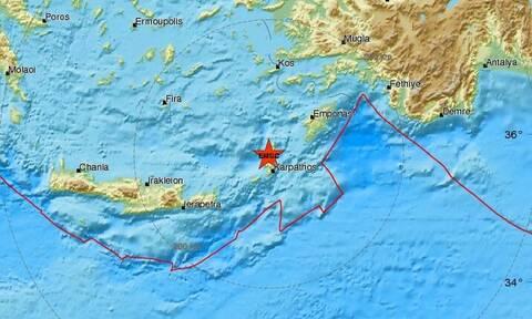Σεισμός στην Κάρπαθο (pics)