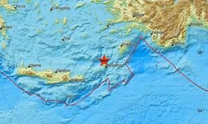 Ισχυρός σεισμός στην Κάρπαθο