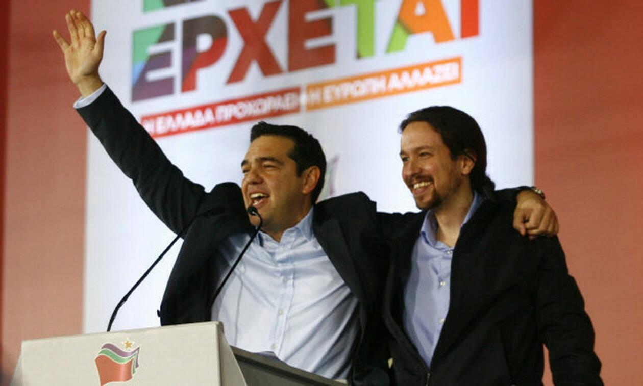 Τσίπρας για τις εκλογές στην Ισπανία: Ούτε λέξη για τους Podemos