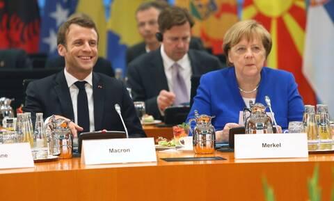 Μέρκελ και Μακρόν θέλουν κι άλλες «Συμφωνίες των Πρεσπών» στα Βαλκάνια