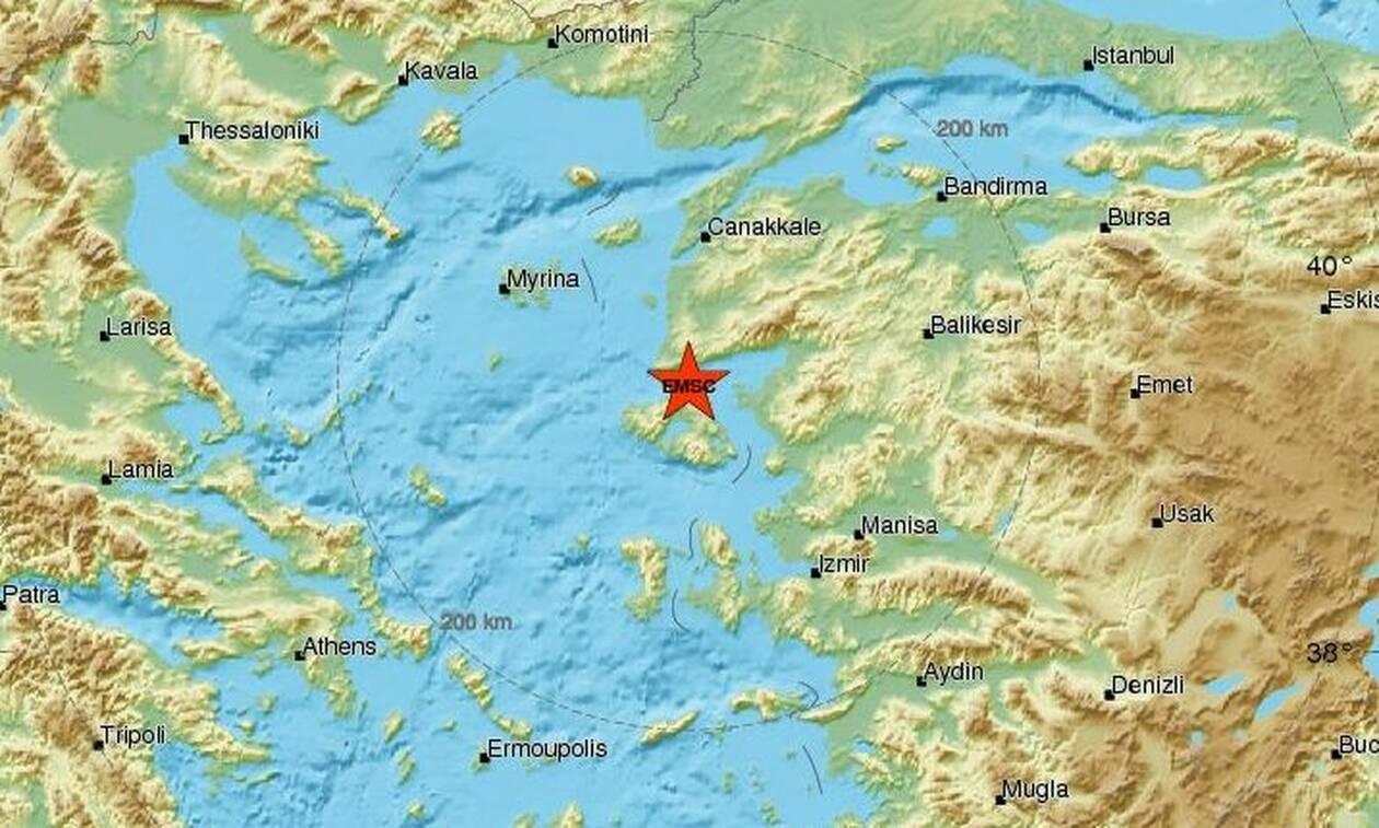 Σεισμός Μυτιλήνη: Έτσι κατέγραψε ο σεισμογράφος τα Ρίχτερ που αναστάτωσαν το νησί (pics)