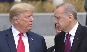Συρία και S-400 στο επικεντρο της επικοινωνίας Τραμπ - Ερντογάν