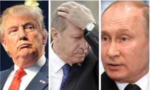 Σε συμπληγάδες ο Ερντογάν: Οι ασφυκτικές πιέσεις από Τραμπ - Πούτιν και η απειλή για την Ελλάδα