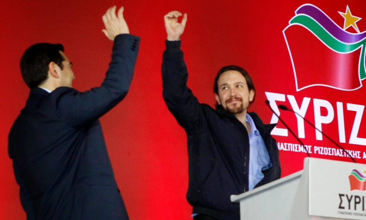ΣΥΡΙΖΑ – Podemos: Βρε καλώς τα 3-0
