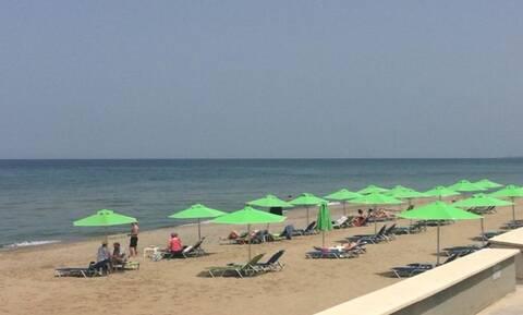 Μόνο στην Κρήτη αυτά: Χιονοπόλεμος και παραλία την ίδια μέρα!