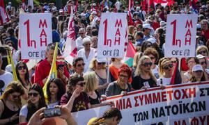 Πρωτομαγιά 2019: Προσοχή – Οι δρόμοι που θα κλείσουν λόγω κινητοποιήσεων σε Αθήνα και Θεσσαλονίκη