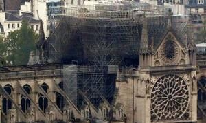 Παναγία των Παρισίων: Με τι αντικατέστησαν την οροφή – Εικόνες από drone