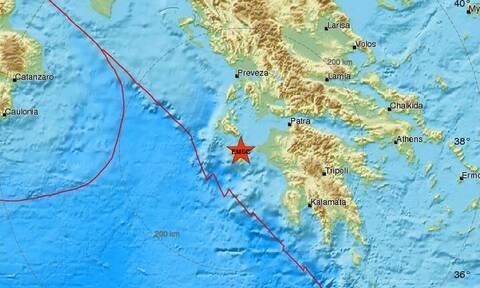 Σεισμός στη Ζάκυνθο - Αισθητός σε αρκετές περιοχές (pics)